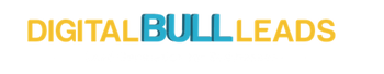 Digital bull leads logo
