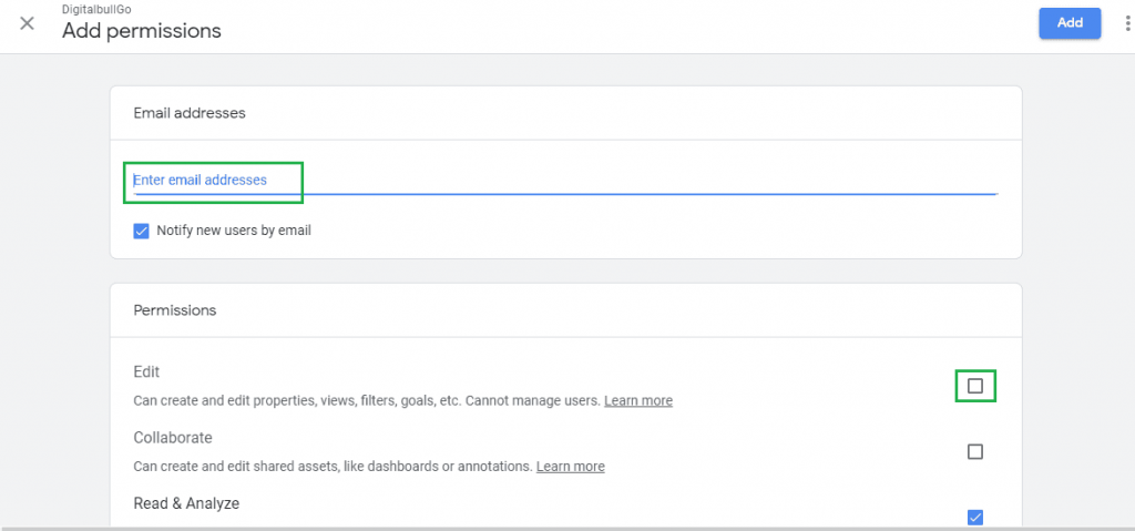 Google Analytics Integration Step 5